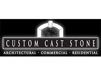 custom cast stone logo